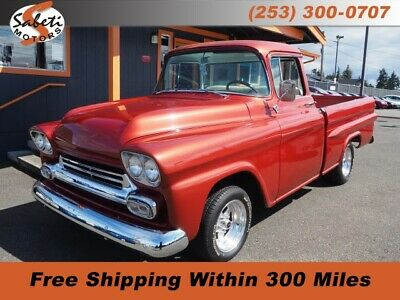1958 Chevrolet Other Pickups  Copper Chevrolet Apache with 529 Miles available now!