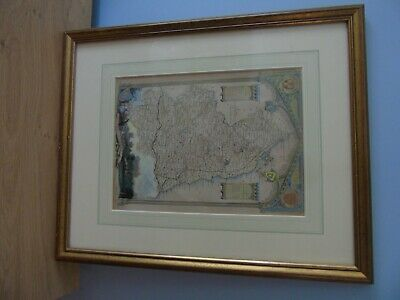 vintage Map of Northumberland