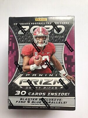 2020 Panini Prizm Draft Picks Football Blaster Box Brand New Sealed Tua Burrow