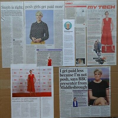 Steph McGovern - clippings/cuttings/articles