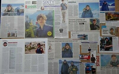 Simon Reeve - clippings/cuttings/articles