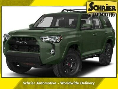 2020 Toyota 4Runner TRD Off-Road 2020 Toyota 4Runner TRD Off-Road 0 Miles Army Green 4D Sport Utility 4.0L V6 SMP