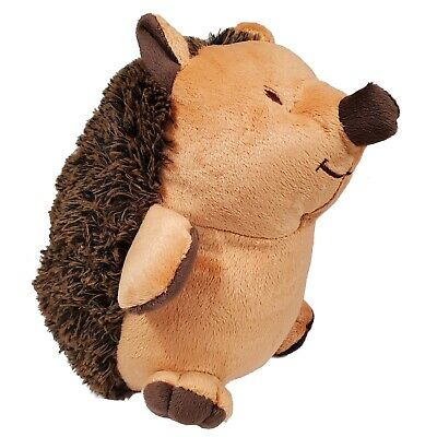 Hedgehog with Brown Spikes Plush Door Stopper Decoration 2.3 Pounds New