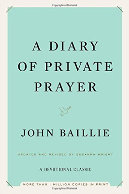 `Baillie, John/ Wright, Sus...-A Diary Of Private Prayer BOOK NEW
