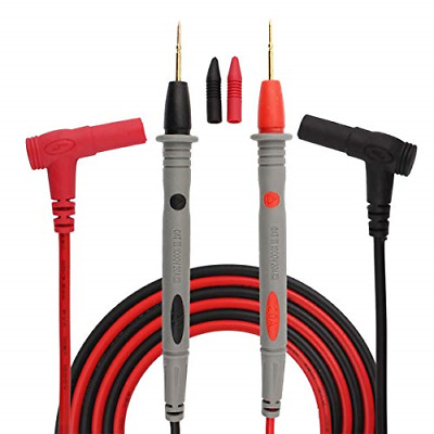 SUKEO Multimeter Test Leads Banana Plug Multimeter Probes Electrical Tester Lead
