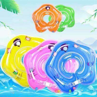 1xBaby Infant Swimming Pool Bath Shower Neck Floating Inflatable Ring  Toys sdfh