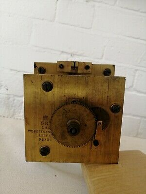 Wm Potts & Sons, Leeds.Double Dial Chain Fusee Movement .Signed & Dated 1932 Vgc