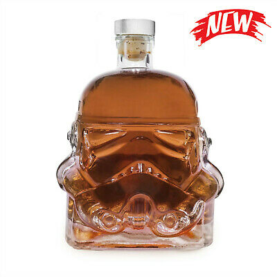 Quality Star Wars Stormtrooper Glass Drinks Decanter Whisky Sherry Liquer UK