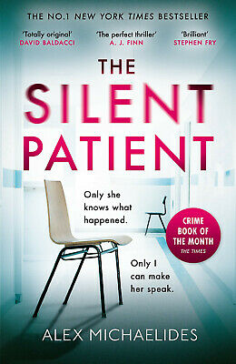 The Silent Patient: The Richard and Judy bookclub pick by Alex Mi