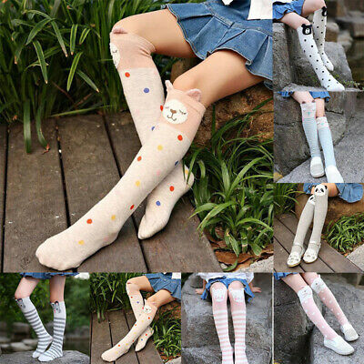 Adorable Baby Kids Toddlers Girls Knee High Socks Tights Leg Warmers Stockings