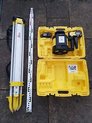 Leica Rugby 810 Self Levelling Rotating Laser kit