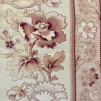 BEAUTIFUL GENTLY FADED 19th CENTURY FRENCH COTTON, REF, PROJECTS 79