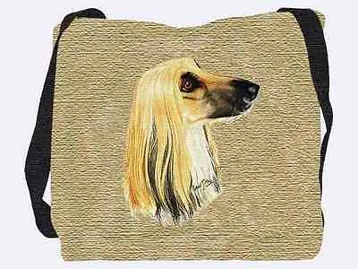 Woven Tote Bag - Afghan Hound 1170  IN STOCK