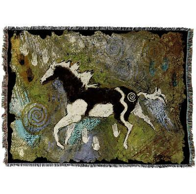 Throw Tapestry Afghan - Magical Pinto 1908