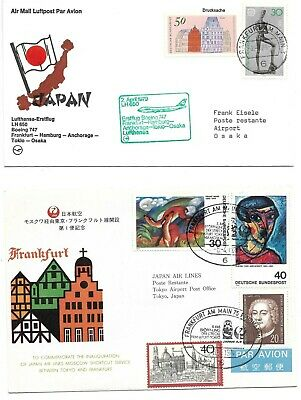 Germany to Japan 2 Flight covers