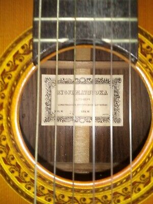 Classical guitar 1976 hand made in Japan by Luthier Ryoshi Matsuoka