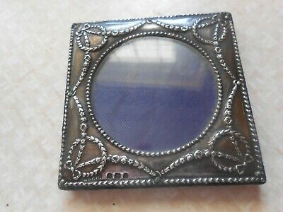 SILVER FACE PICTURE HOLDER HALL MARKED LONDON 1902-03 G&C Ltd.