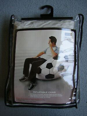 Unused Next Object Inflatable Football chair Folding Garden Indoor Seat Lounger