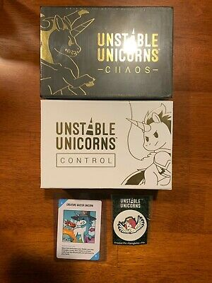 Unstable Unicorns Control & Chaos + Goodies
