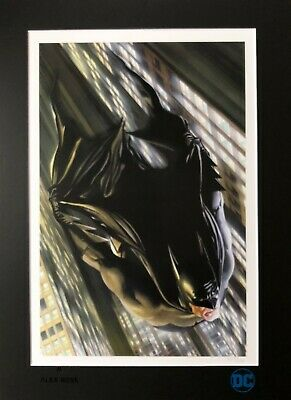 ALEX ROSS rare BATMAN Miracle limited MATTED print PP 23/25 NYCC 2016 LAST ONE