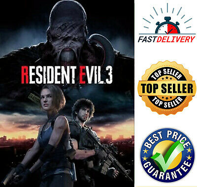 Resident Evil 3 Global PC Steam Key - Works In All Region - Best Game To Play