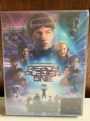 Ready Player One [Blu-ray 3D 2D Steelbook - Double Lenticular - Manta Lab ME#17]