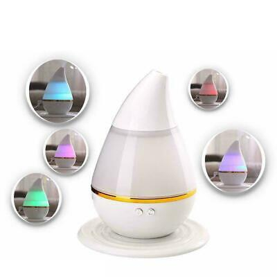 LED 7 Color Ultrasonic Aroma Humidifier Air Aromatherapy Essential Oil Diffuser