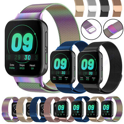For Oppo Watch Magnetic Milanese Loop Watch Strap Wristband Replacement Bracelet