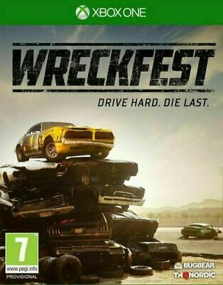 Wreckfest Xbox One Inc Manual & Fast Free Postage/Dispatch
