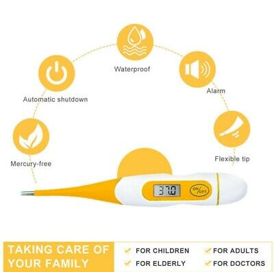 Digital LCD TEMPERATURE THERMOMETER Oral Mouth Under Arm Medical FEVER CHECK NEW