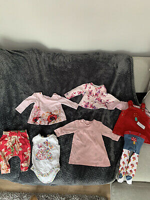 Girls Infant Baby Clothes Bundle Ted Baker & Next 3-6 Months