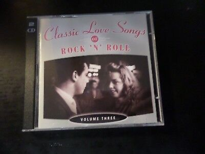 Cd Double Album - Timelife - Classic Love Songs Of Rock N Roll Vol 3