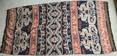 Antique/Vintage Sumba Ikat Hinggi Indonesian Weaving From Old Dutch Collection