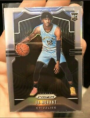 2019-2020 Panini Prizm SILVER Ja Morant RC #249 Grizzlies OC as is 🔥🏀🏀🔥📈💰
