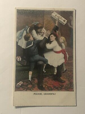1909 Greenfield's Chocolate Candy Advertising Postcard Posted Delafield NYC