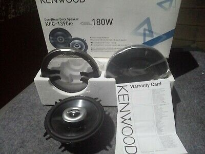 "Kenwood KFC-1390ie 5.25"" Coaxial Car Speakers"