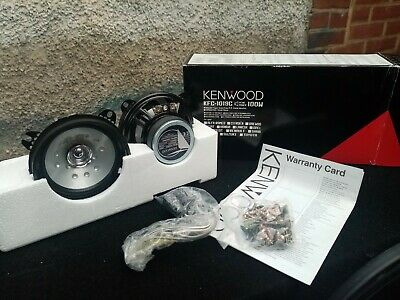"Kenwood KFC-1019C 4"" Coaxial Car Door Speakers"