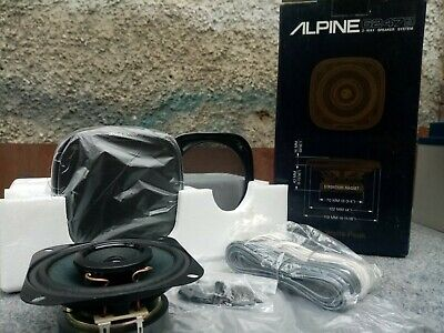 "Alpine 6247GD 4"" Inch Coaxial 2 Way Car Speakers"
