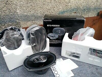 Kenwood - PS6900 6by9 6x9 Three Way Coaxial Car Speakers