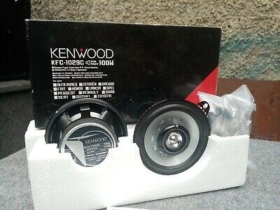 "Kenwood KFC-1029C 4"" 2 Way Coaxial Car Speakers"