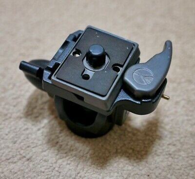 Manfrotto 234RC monopod head with quick release, excellent condition