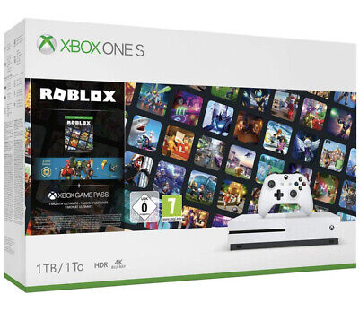 Microsoft Xbox One S 1TB ROBLOX Special Edition Bundle NEXT DAY DELIVERY