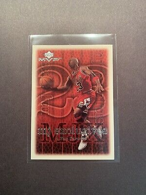 1999-00 Michael Jordan Upper Deck MVP MJ Exclusives Silver Script #204