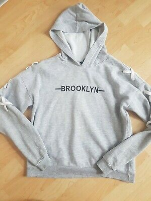 Girls Immaculate NEW LOOK 915 Hoodie Girls Age 14 To 15 Years Arm Detail