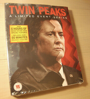 Twin Peaks Limited Event Series Blu Ray Boxset Slipcase Edition NEW SEALED