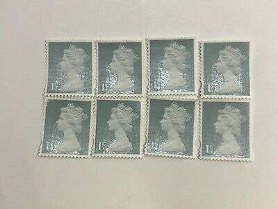 100 First class stamps unfranked Off Paper 1st class no gum l5