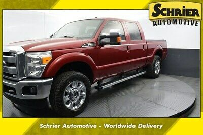 2015 Ford F-250 Lariat 2015 Ford F-250SD Lariat 101,340 Miles Ruby Red Metallic Tinted Clearcoat 4D Cre