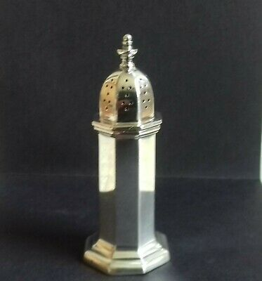 Vintage Mappin & Webb Silver Plated Pepper Pot