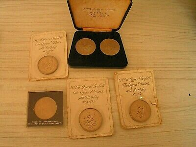 Comemortive Coins (6) Queen Mother 90Th Birthday, Etc.