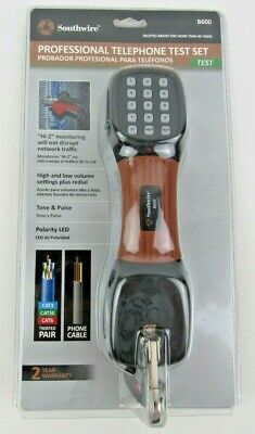 Brand New Southwire Professional Telephone Test Set Model # B600